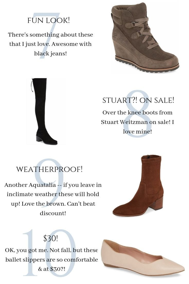Best Fall Booties on Sale