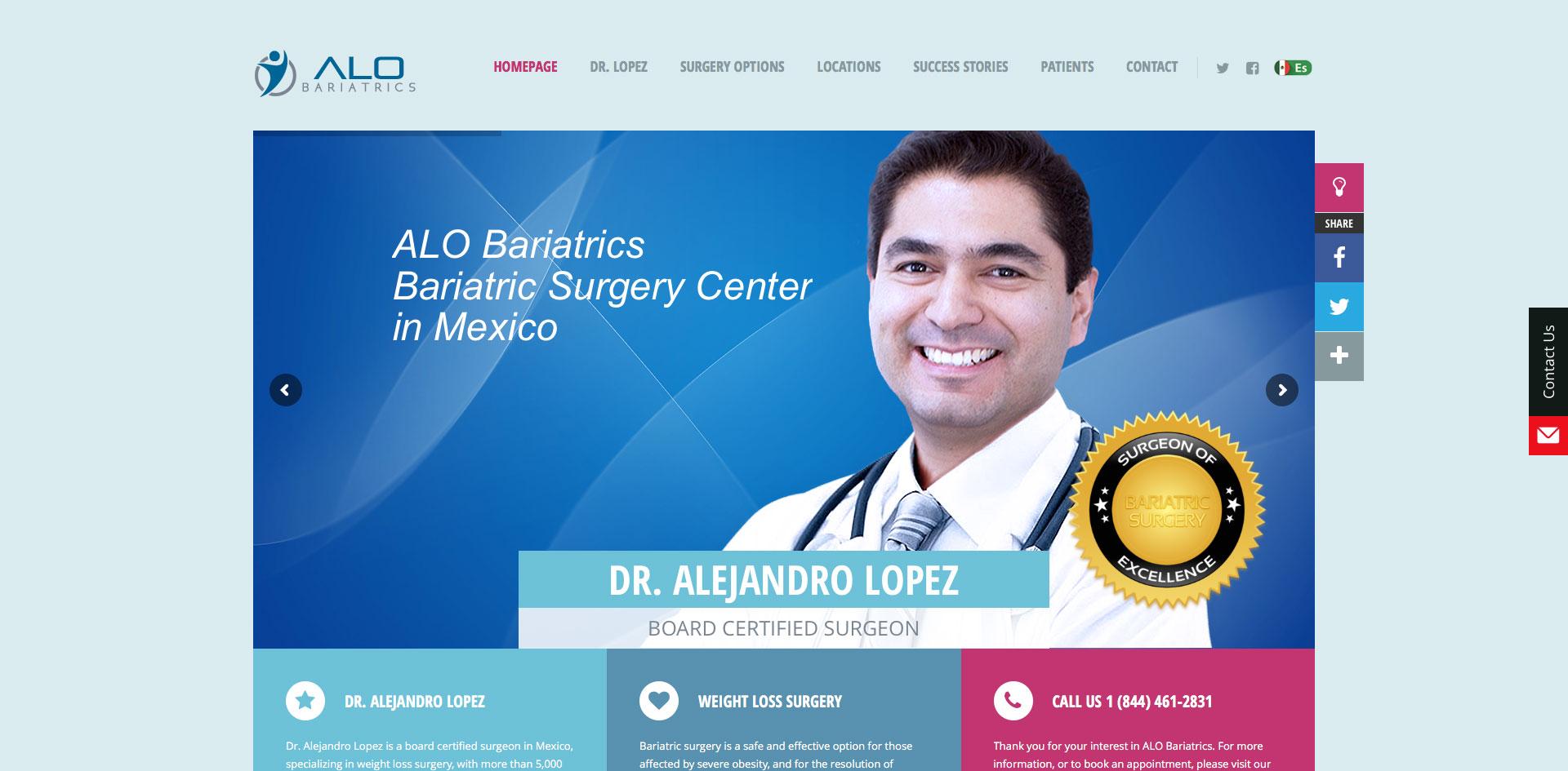 Alo Bariatrics designed by Blue Guys
