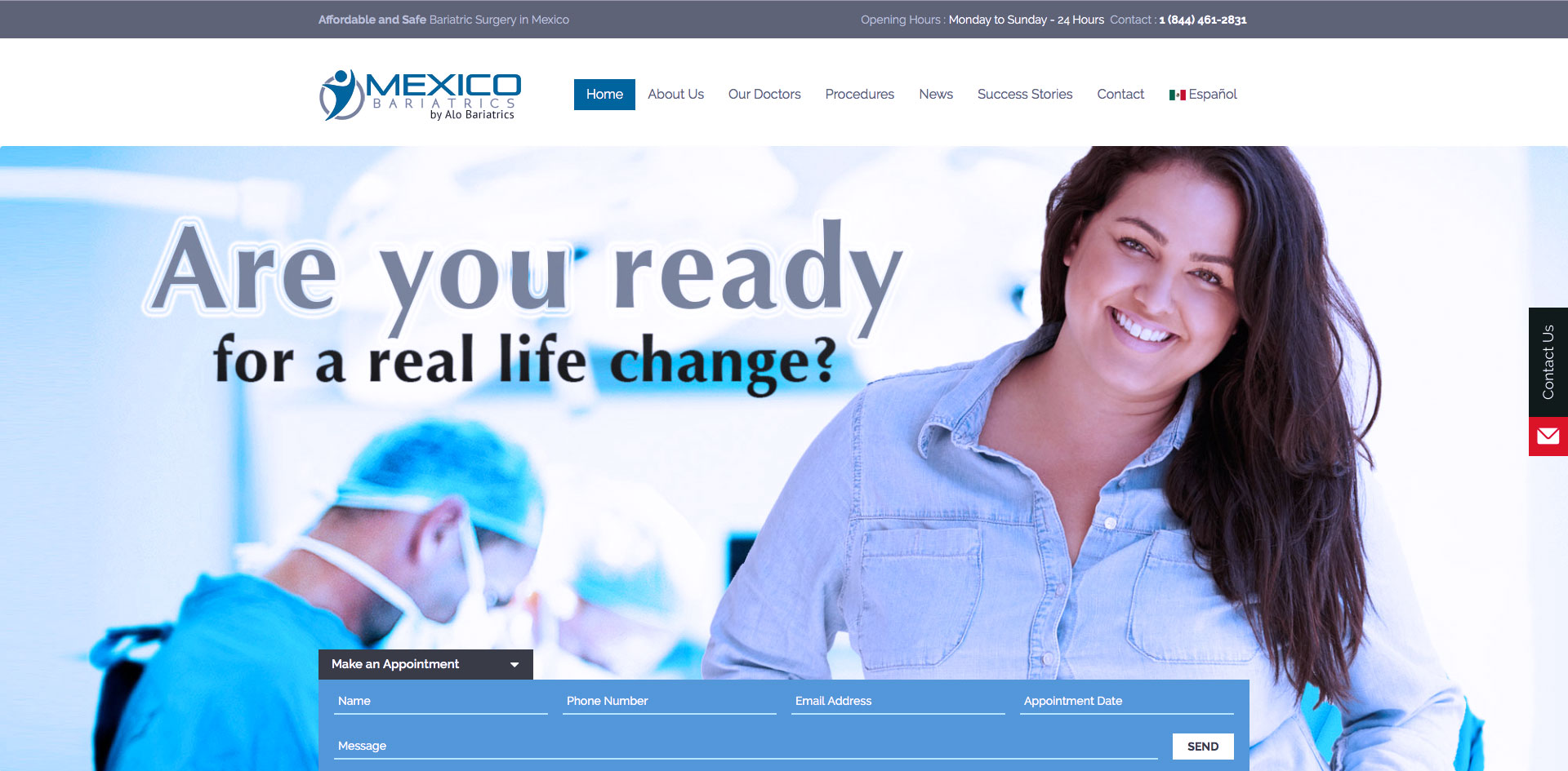 Mexico Bariatrics designed by Blue Guys