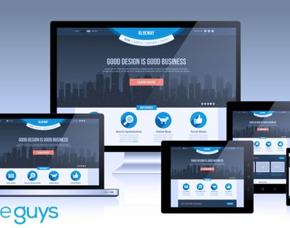 Responsive Website Design suggests that design and development should respond to the user's environment based on screen sizes, platform and orientation.