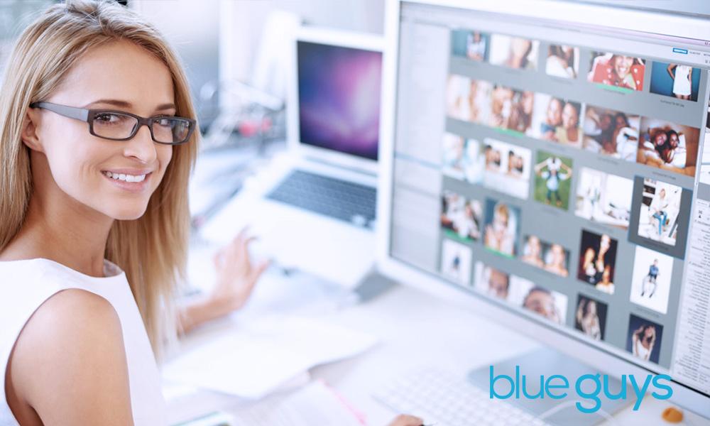 Blue Guys Website Designer