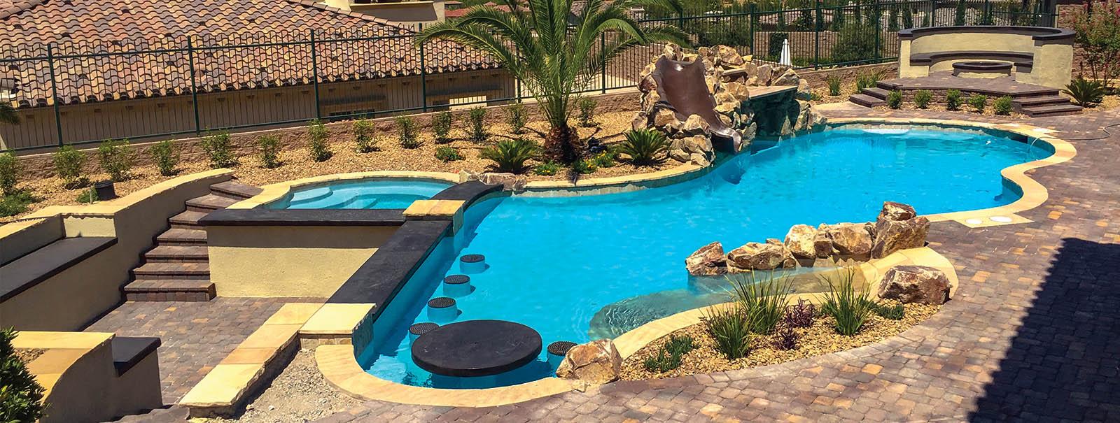 las vegas custom swimming pool builders