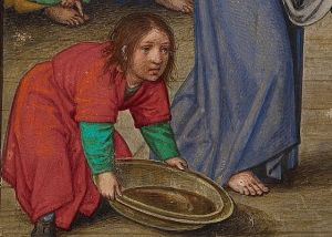 Foot washing image