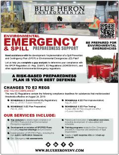 Environmental Emergency & Spill Preparedness Support