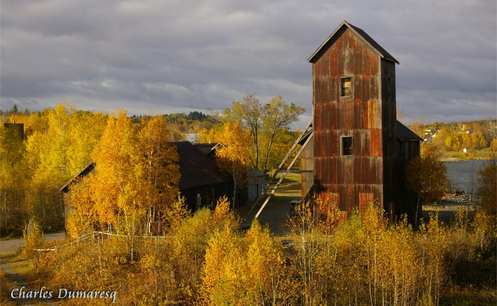 Right-of-Way Mine in Autumn by Charles Dumaresq