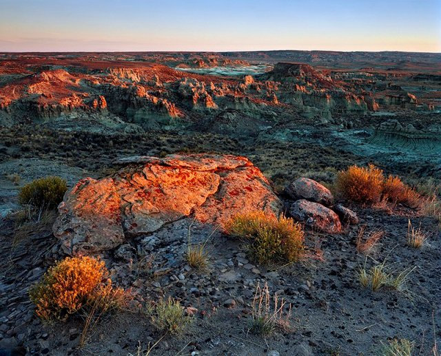 Adobe Town Rim, Red Desert, Wyoming
