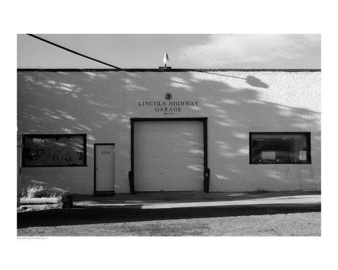 Lincoln Highway Garage, Medicine Bow, Wyoming (2016)