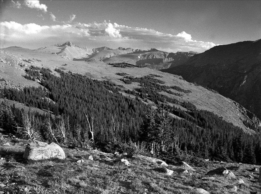 Longs Peak and Glacier Gorge, RMNP