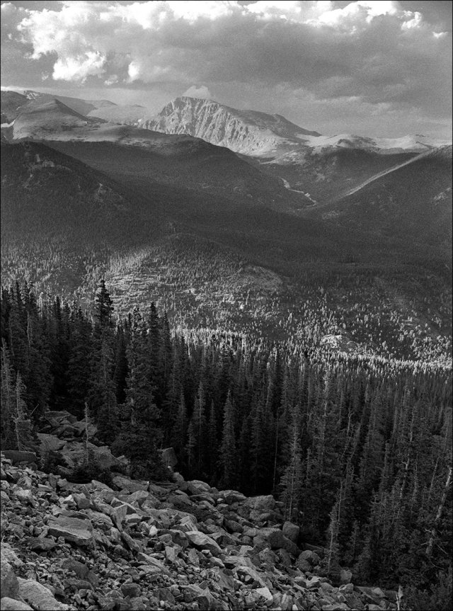 Ypsilon Mountain and the Mummy Range, RMNP
