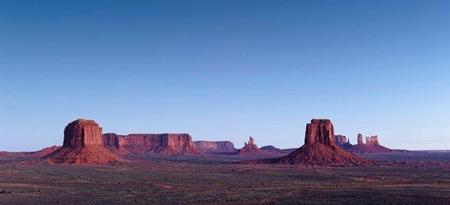 Blue Hour, Artist's Point, Monument Valley, Utah