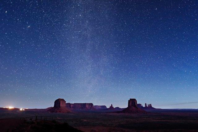 Milky Way, Artist's Point, Monument Valley, Utah