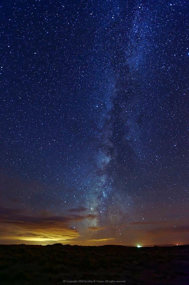 Milky Way, Bisti Wilderness, New Mexico