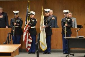 ROTC at Council 11Nov2014