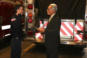 FF Whitlock Sworn In