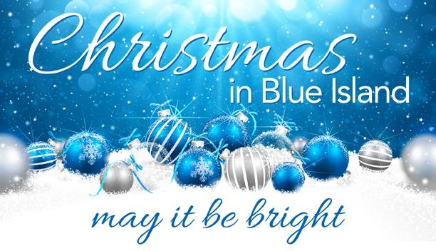 Christmas in blue island