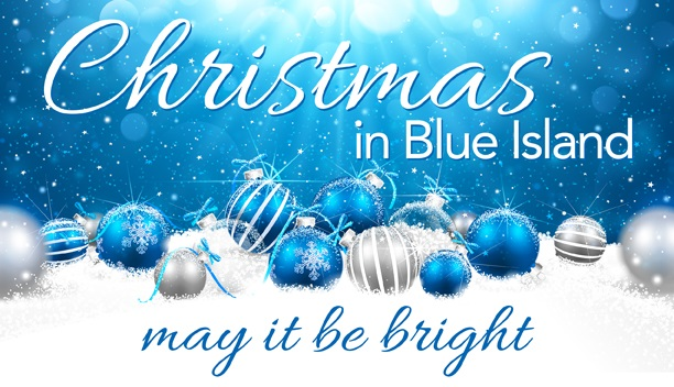 Christmas in blue island