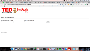 TedX Feedreader (Google Feeds is deprecated)
