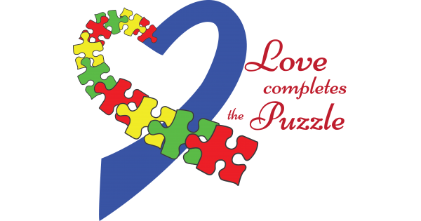 Download Heart Love Completes The Puzzle Autism Awareness Cuttable ...