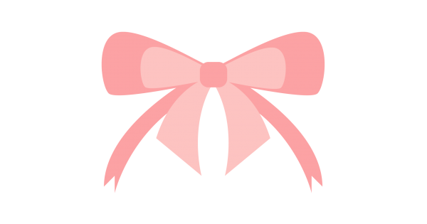 Download Pink Baby Ribbon Cuttable SVG and Printable PNG File