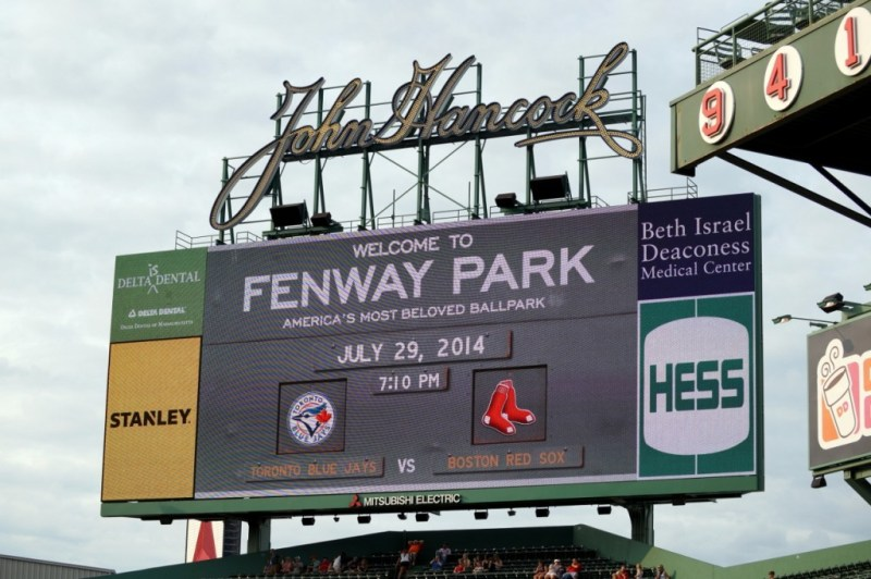 Fenway Park- Jays vs Sox-July29-SD