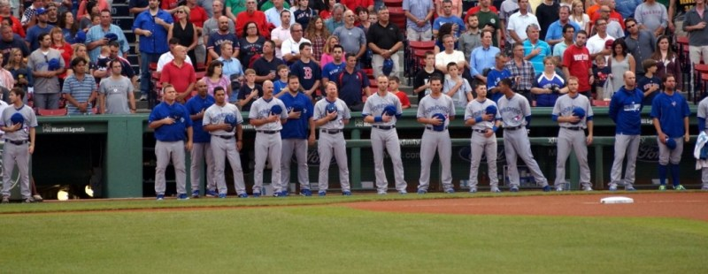 Jays vs Red Sox Anthems-July29- SD
