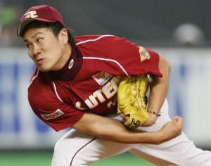 Masahiro Tanaka. Photo: Kyodo