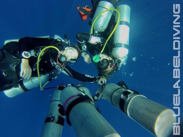 trimix diving training