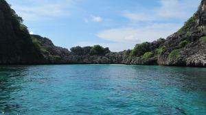 """PADI courses """"soft tech"""" in dive locations such as this beautiful beach."""