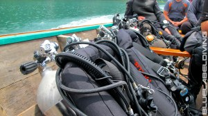 Cave Diving Equipment for cave diving course