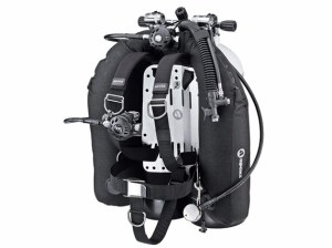 Technical Diving Setup - Wing and Backplate