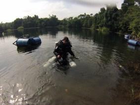 Ben Reymenants after Deep Dive 177 mtrs