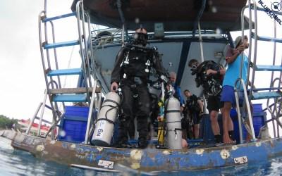 Diver on AP Inspo on boat