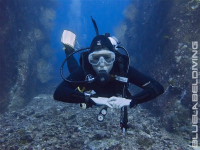 Diver in Perfect Buoyancy