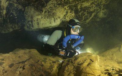 Triton CCR Spider cave