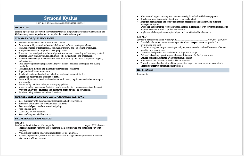 resume template seek resume resume examples seek resume template - Seek Resume Template