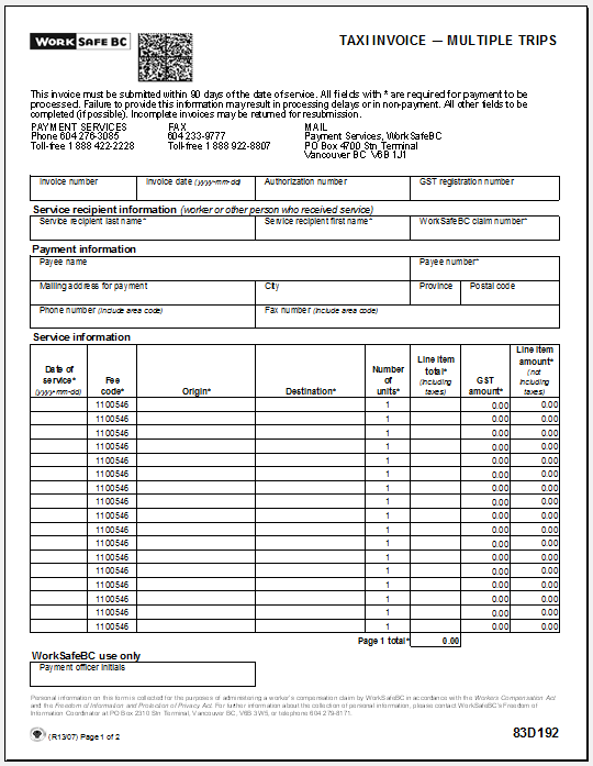 hourly invoice template 07