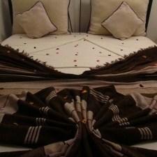Rose Petal Covered Bed