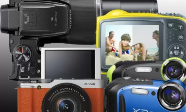 Fujifilm zaprezentował kilka nowych modeli aparatów.