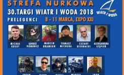 Strefa Nurkowa - prelegenci na Targach Wiatr i Woda 2018