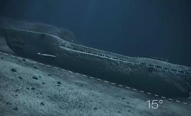 U-Boot U-864 niemiecki okret podwodny z II wojny Śwatoej wrak (1)