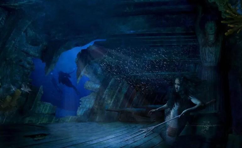 4 miejsce w kategorii Sztuka podwodna. 30 do 40 różnych ujęć razem Poszukiwacze skarbów fot Dennis Vandermeersch Ocean Art