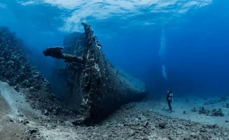 Wyróżnienie w kategorii Lustrzanka szeroki kąt Wrak statku Million Hope w Morzu Czerwonym fot Fabrice Dudenhofer Ocean Art