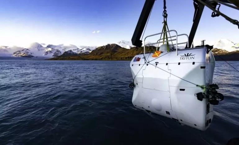 Wyprawa do najgłębszego miejsca na Oceanie Południowym