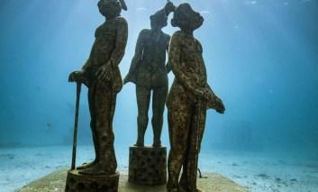 Podwodna galeria sztuki u wybrzeży Marsylii
