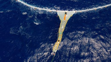 System Ocean Cleanup P