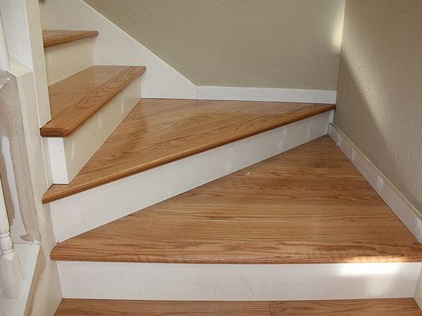 Hardwood Floor Stair Inlays San Mateo Ca Wood Stair | Installing Hardwood Stairs Over Existing Stairs | Stair Nose | Carpeted Stairs | Risers | Wood Flooring | Stair Railing