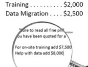 Read the Fine Print with Software Vendor Quotes