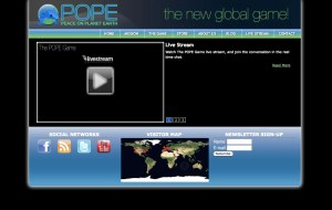 Wordpress Theme Developed for Game