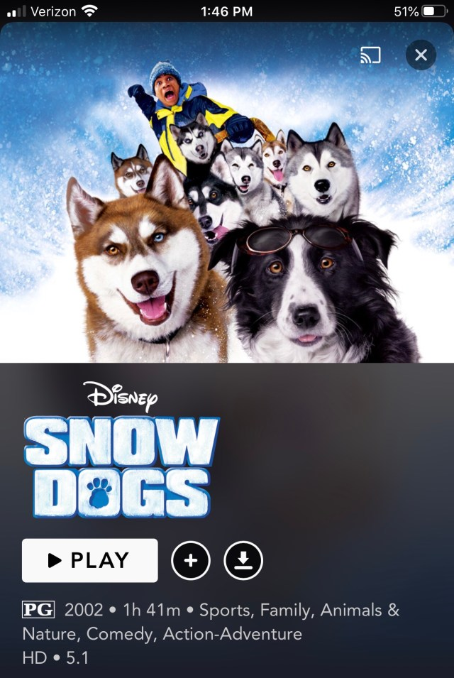 5 ways to celebrate national puppy day while social distancing photo of movie poster for Snow Dogs with Cuba gooding jr