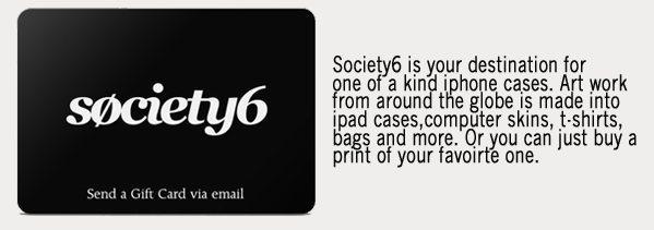 Society6 Gift Card